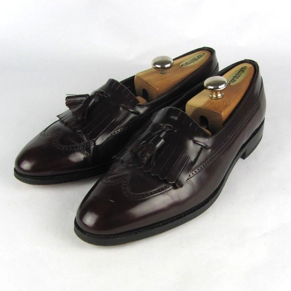 9740c06662 Florsheim Shoes | Oxblood Tassel Loafers 105 D | Poshmark